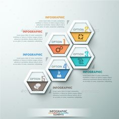 Modern Infographic #Options #Template - #Infographics Download here:  https://graphicriver.net/item/modern-infographic-options-template/10758863?ref=alena994