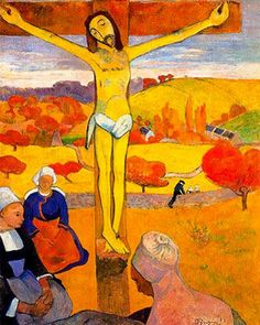 The Yellow Christ (1889) by Paul Gauguin
