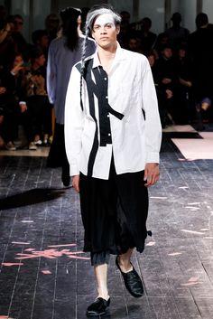 Yohji Yamamoto Spring 2014 Menswear Fashion Show