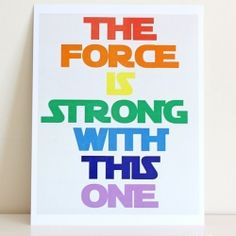 Star Wars Printable- Perfect for a nursery!  Pastel, Rainbow, and Blue & Yellow