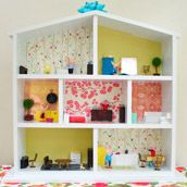 building and decorating a dollhouse
