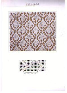 Diamonds (charted pattern) #lace.