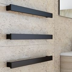 Image result for heated towel rail black