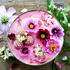 Raspberry Jogurt Smoothie Bowl