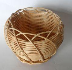 Rattan, Wicker, Newspaper Basket, Basket Decoration, Basket Weaving, Arts And Crafts, Design, Baskets, Fiber