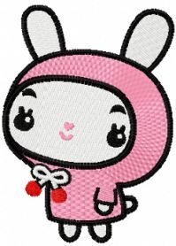 cute baby banny embroidery design. Machine embroidery design…