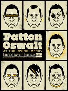 Patton Oswalt - seeing him on June 10 at the Irvine Improv. My fav comic!