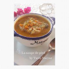 soupe de pied
