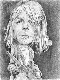 Caricature Drawings of Famous People | Cartoon: KurtCo (medium) by salnavarro tagged caricature,pencil ...