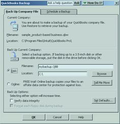 Quickbooks file types