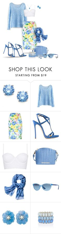 """""""~Polo Ralph Lauren~ Floral Print Pencil Skirt ~"""" by justwanderingon ❤ liked on Polyvore featuring Polo Ralph Lauren, Dsquared2, Topshop, Brahmin, Reed Krakoff, Vogue Eyewear, Helen Ringus, Forever New and Gemvara"""