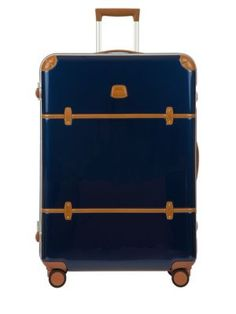 """BRIC'S Bellagio Metallo 32"""" Spinner Trunk. #brics #bags #leather #hand bags #"""