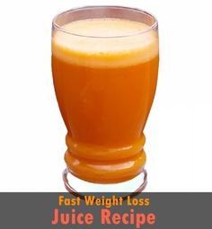 If you are looking for a fast way to lose weight, boost your energy levels and increase your metabolism, then this juice is for you...
