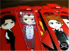 Bookmarks giveaway for Gathering 4th Anniversary INFINITE (JKT)