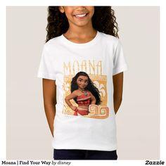 Moana   Find Your Way. Producto disponible en tienda Zazzle. Vestuario, moda. Product available in Zazzle store. Fashion wardrobe. Regalos, Gifts. Link to product: http://www.zazzle.com/moana_find_your_way_t_shirt-235930412974503158?CMPN=shareicon&lang=en&social=true&rf=238167879144476949 #camiseta #tshirt #moana