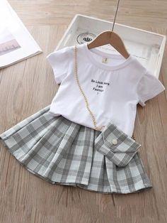Cute Little Girls Outfits, Kids Outfits Girls, Toddler Girl Outfits, Toddler Girls, Baby Girl Fashion, Toddler Fashion, Kids Fashion, Stylish Toddler Girl, Stylish Kids