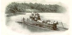 1000 Images About River Crossing By Rope Ferry On Pinterest Rivers Ropes And Shipwreck