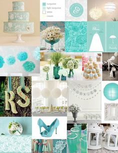 Turquoise Wedding Inspirations