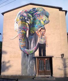 Streetart: Case – New Mural in Schmalkalden, Germany (5 Pictures) > Design und so, Paintings, Streetstyle, urban art > artwork, mural, photorealistic, piece, schmalkalden, thueringen