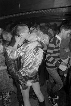 Derek Ridgers' images of unraveling nights on 80s London dance floors