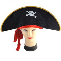 #Pirate #Hat with #eye #patch for Adult - Fashion9shop.com