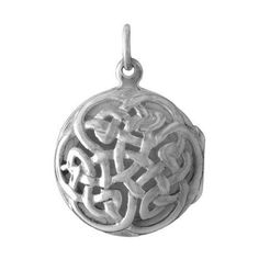 Sterling Silver Celtic ANAM CARA Soul Friend Locket on