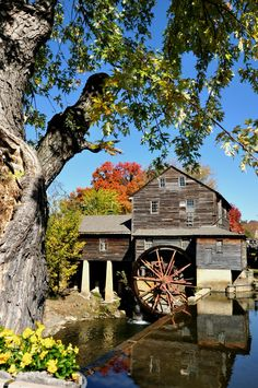 The Old Mill in Pigeon Forge - Always beautiful!