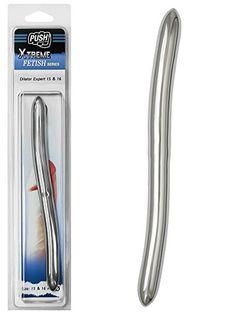 Push Xtreme Fetish - 20cm Edelstahl Dilator Expert 15mm & 16mm breit
