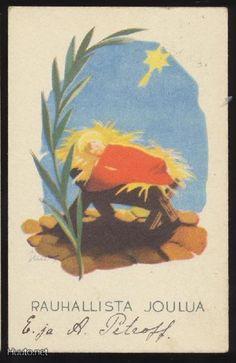 Martta Wendelin Xmas Greetings, 23 November, Christmas Illustration, Old Ones, Vintage Postcards, Martini, Fairytale, Illustrators, Christmas Cards