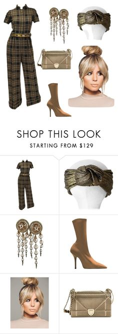 """Untitled #28"" by corina-stanculet ❤ liked on Polyvore featuring Valentino and Christian Dior"