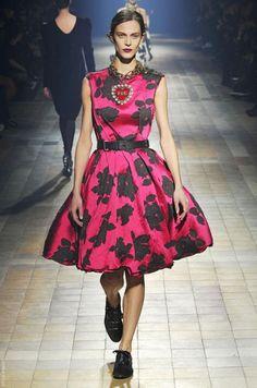 Lanvin. Lo mejor de la Semana de la Moda Otoño/Invierno 2013 en París.