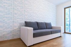Herringbone – Large decorative Scandinavian wall stencil for DIY projects – Reusable – Wallpaper look – Easy home decor Decor, Home Diy, Professional Decor, Stencils Wall, Cheap Home Decor, Easy Home Decor, Diy Home Improvement, Interior Design, Home Decor