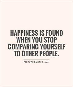Inveja, esta deve ser a característica que algumas pessoas têm que mais odeio. Durante o nosso percurso vão surgindo pelo caminho pessoas que já fizeram mais do que nós, o segredo está em aprendermos com elas e não entrar no jogo de comparação para saber quem é o melhor. ;)   Sê tu próprio e orgulha-te disso. Pensa por ti e não pelos outros, trabalha para ti e ajuda para que possas ser ajudado, mas não compitas, deixa a competição para quem gosta de comparações... :)  #quotes #quoteoftheday…