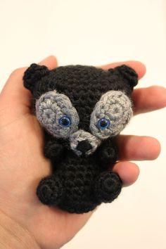 PATTERN Brave Bear Crochet Amigurumi Doll. $4.95, via Etsy.