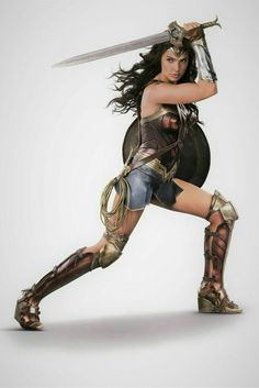 Gal Gadot as Wonder Woman Wonder Woman Art, Gal Gadot Wonder Woman, Wonder Woman Movie, Wonder Woman Cosplay, Marvel Dc, Dc Comics, Gal Gardot, Dc Heroes, Aquaman