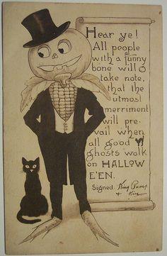 Vintage Halloween Postcards | Vintage Halloween Postcard Gibson | Flickr - Photo Sharing!