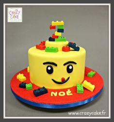 """Gâteau d'anniversaire """"Délice en légo"""""""