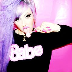 Make me a Barbie princess: Photo Nikki Lipstick, Lipstick Style, Barbie Princess, Topshop, Hair Color, Crew Neck, Beautiful Women, T Shirts For Women, Unisex
