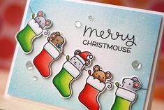SSS/Lawn Fawn-Merry Christmouse