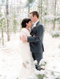 Perfect kiss. #BBWeddings #StyleMePretty