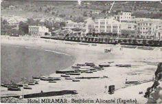 Miramar Hotel, before being the Montemar Hotel / El Hotel Miramar antes de ser el actual Montemar (1960 aprox.)  http://www.hmontemar.com
