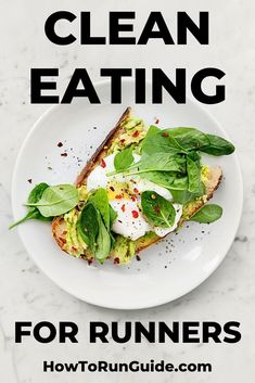 The ultimate guide to eating clean. Why do runners want to eat clean? What is clean eating? Find out here! The ultimate guide to eating clean. Why do runners want to eat clean? What is clean eating? Find out here! Healthy Breakfast Recipes, Lunch Recipes, Diet Recipes, Healthy Snacks, Vegetarian Recipes, Healthy Eating, Healthy Recipes, Diet Tips, Candida Recipes