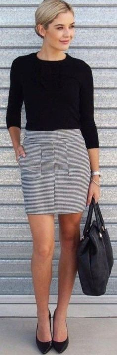 Fashionable work outfits for women 2017 049 #casualworkoutfit
