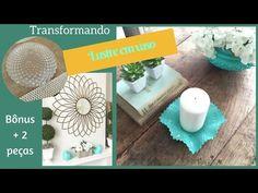Repaginando lustre antigo- decoração barata- Katherinne Ribeiro - YouTube