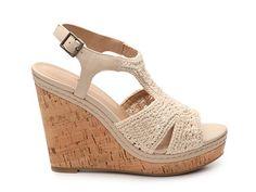 7dcd9619aa64 Audrey Brooke Winston Macrame Wedge Sandal Wedge Sandals