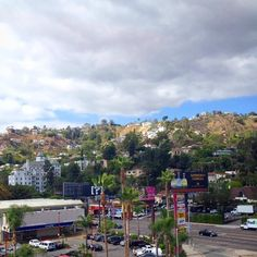 The hills of West Hollywood with the Chateau Marmont ion the left side.  Reviews of Glitterati Private Tours - TripAdvisor