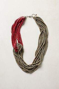 Knotted Bead Necklace - anthropologie.com
