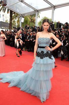 Bianca Balti in Alberta Ferretti - Cafe Society 69th #Cannes Film Festival Premiere and Opening Ceremony