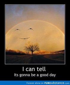 its a happy rainbow kind of day..... and I can hear colors!