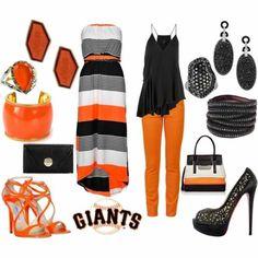 Giants Game Fashion